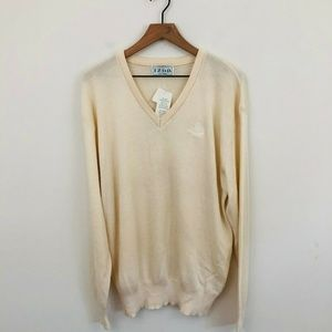 NWT! Izod Vintage V-Neck Sweater Large